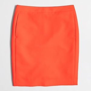 J. Crew Factory Crepe Pencil Skirt